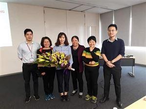 Hoạt động trải nghiệm của học sinh THCS Láng Thượng: tham quan nhà máy Toyota Việt Nam.