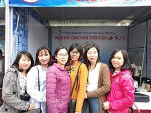 Ngày hội CNTT tại THCS Láng Thượng