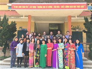 thăm, giao lưu và tặng quà trường PTDTBT THCS Sa Pả - Xã Sa Pả - Sa Pa.